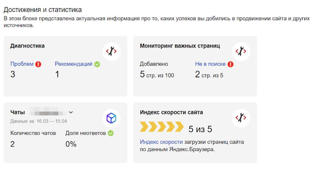 Яндекс.Вебмастер теперь может отслеживать «скорость сайта»