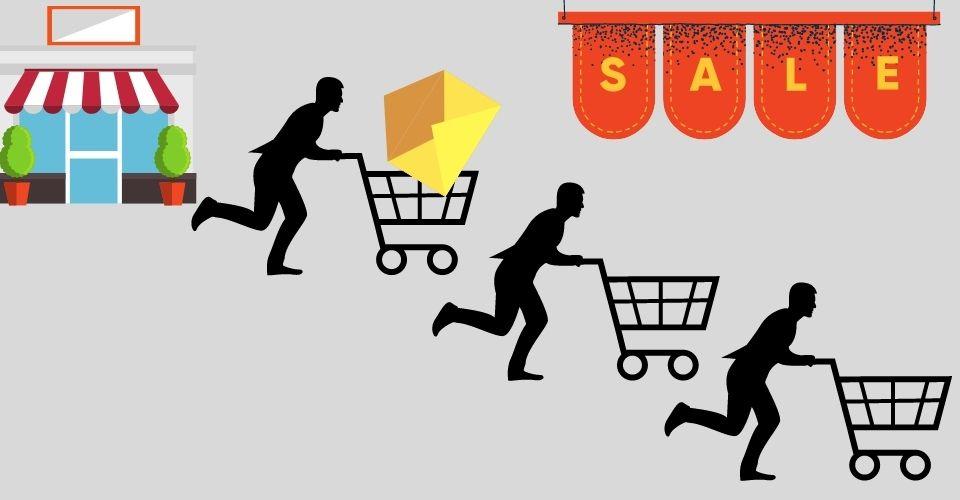 Покупатель уходит без покупки из-за высокой цены