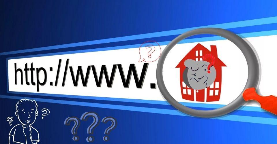 поменять URL сайта