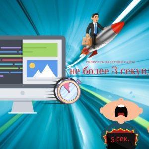 Почему скорость загрузки сайта не дает попасть в ТОП поисковых систем?